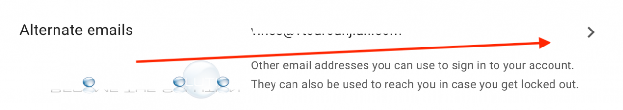 Gmail alternate emails