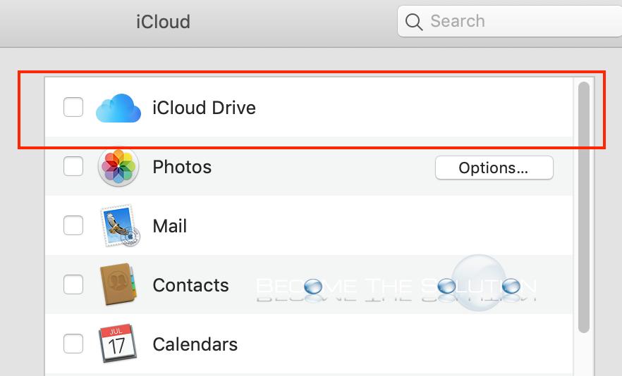 Mac icloud drive
