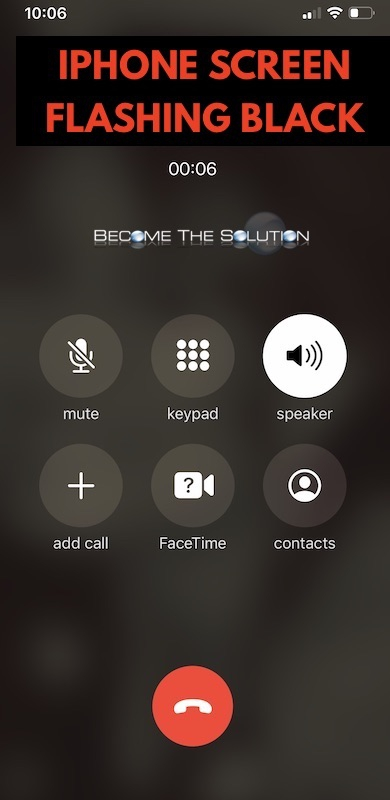 Fix: iPhone Screen Flashing/Flickering Black During Phone Call