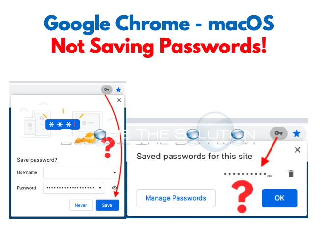 Fix: Google Chrome No Longer Saving Passwords – macOS