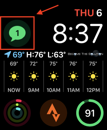 Fix: Apple Watch Persistent Unread Message Notifications