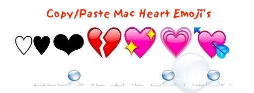 Heart on Mac Keyboard Emoji