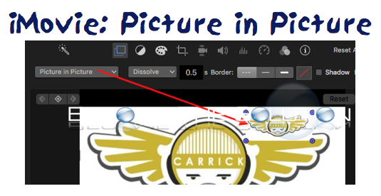 How To: iMovie Put Picture in Video