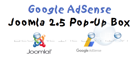 Joomla Add Google AdSense Pop Up Box Window