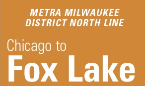Metra Milwaukee District North Line Schedule Weekend Weekday Fares Stations