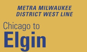 Metra Milwaukee District West Line Schedule Weekend Weekday Fares Stations