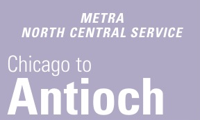Metra North Central Service Schedule Weekend Weekday Fares Stations