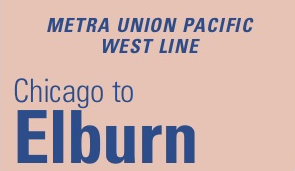 Metra Union Pacific West Line Schedule Weekend Weekday Fares Stations