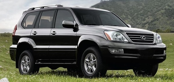 Lexus GX 470 Light Bulb Replacement Types 2004-2008