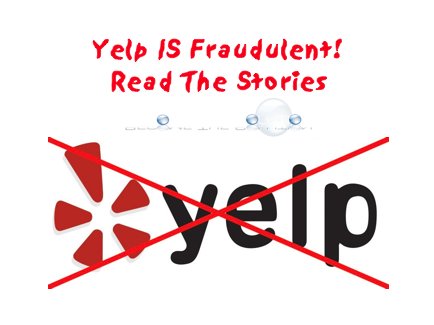 Yelp - The Biggest Fraud Being Committed to Consumers