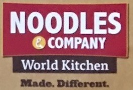 Noodles And Company Carry Out Menu Chicago (Scanned Menu With Prices)