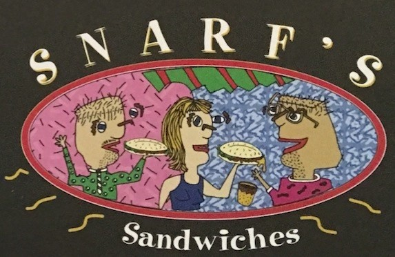 Snarfs Sandwiches Carry Out Menu Chicago (Scanned Menu With Prices)