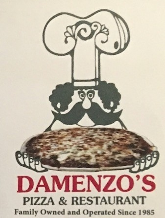 Damenzo's Carry Out Menu Chicago (Scanned Menu With Prices)