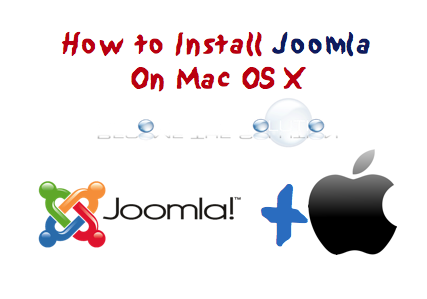 Mac X 10.10 Joomla 3 Installation
