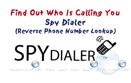 SpyDialer - Get Informed of Suspicious Callers