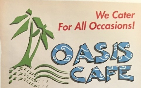 Oasis Cafe Carry Out Menu Chicago (Scanned Menu With Prices)