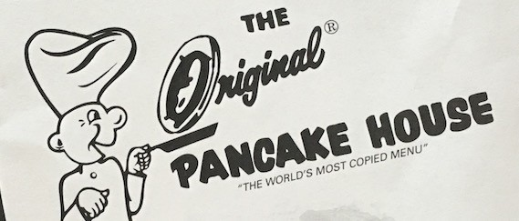 The Original Pancake House Carry Out Menu Chicago (Scanned Menu With Prices)