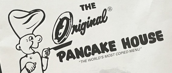 The Original Pancake House Carry Out Menu Chicago