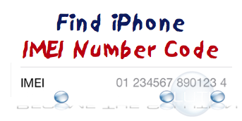 Get iPhone IMEI Number