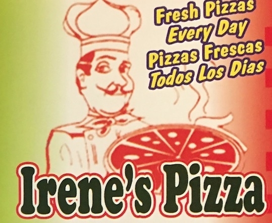 Irene's Pizza Carry Out Menu Cicero (Scanned Menu With Prices)