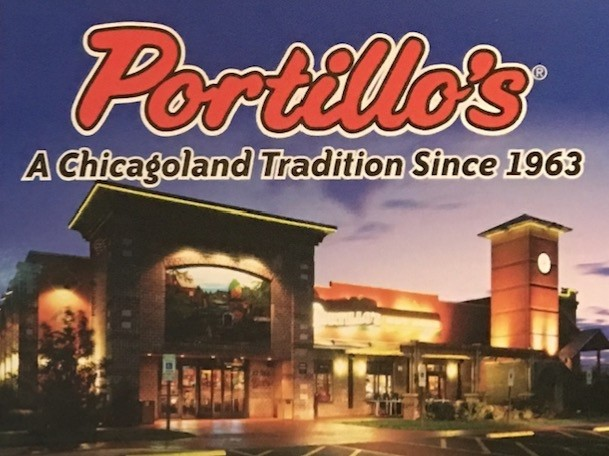 Portillo's Carry Out Menu (Scanned Menu With Prices)