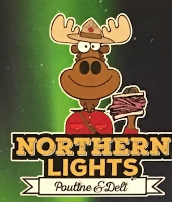 Northern Lights Poutine Carry Out Menu (Scanned Menu With Prices)
