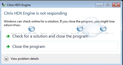 Fix: Citrix HDX Engine is Not Responding Frozen