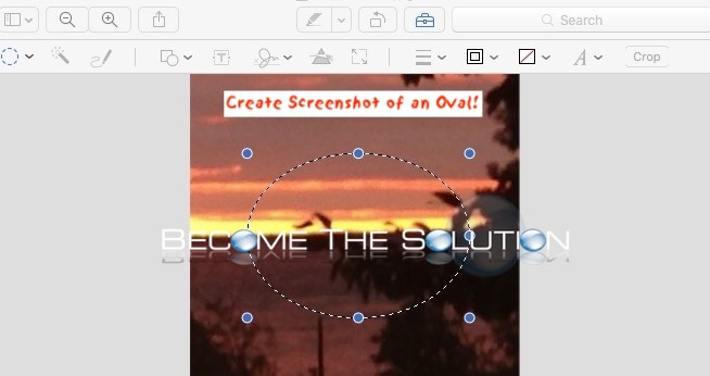 How To: Mac X Screenshot Circle Oval