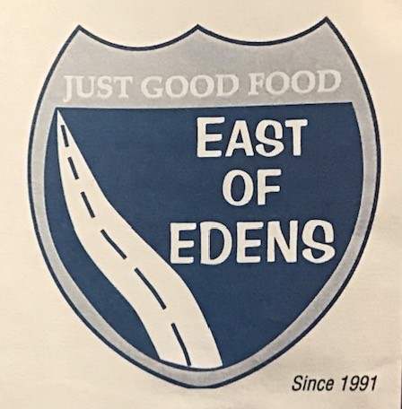 East Of Edens Chicago Carry Out Menu (Scanned Menu With Prices)