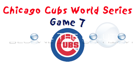 Chicago Cubs World Series Game 7
