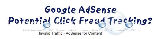 Google AdSense Click Tracking