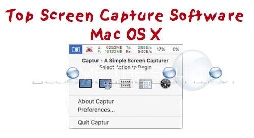 Best Screen Capture Software for Mac