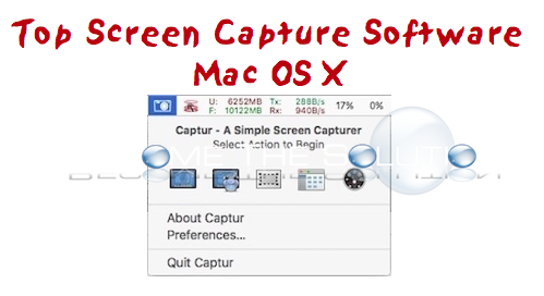 best screenshot capture software for mac