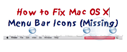 Fix: Mac Menu Bar Icons Missing
