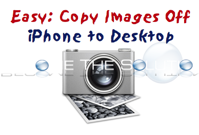 How To: Copy Images on iPhone