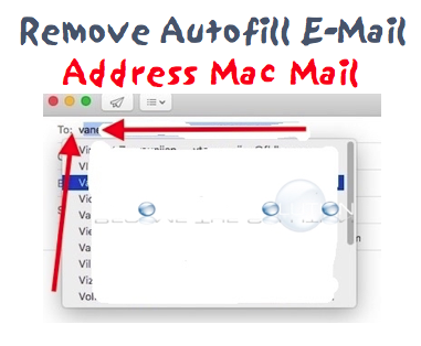 How To: Mac Mail Remove Autofill Email Address - Latest Version