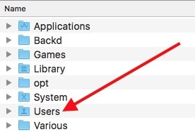 Default downloads mac users
