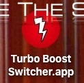 Turbo boost switcher mac