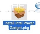 Mac intel power gadget usage