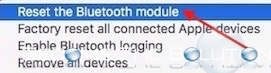 Mac Reset Bluetooth Preferences for Bluetooth Issues