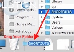 Mac add shortcuts to dock