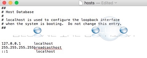How To: Update Mac OS X Hosts File