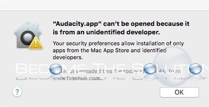 How To: Mac Allow Applications From Anywhere