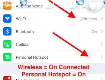 How To: iPhone Enable Hotspot and Connect to Wi-Fi Same Time