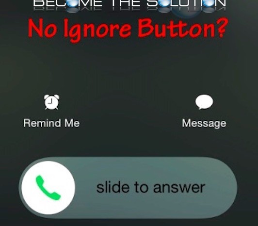 How To: iPhone Ignore Caller
