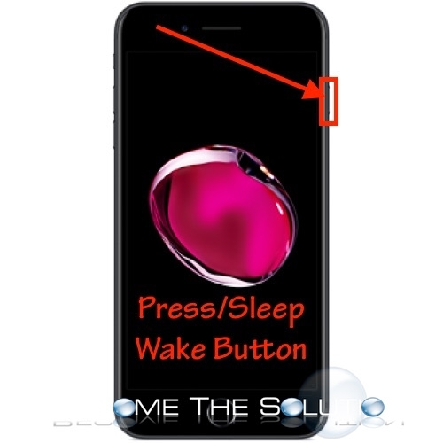 iPhone ignore call press sleep wake button