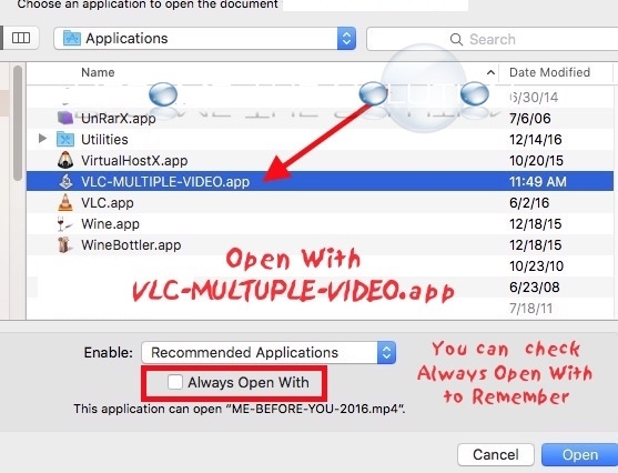 How To: Play Multiple Videos VLC Player Mac