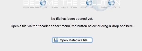 MKVtoolnix open matroska file