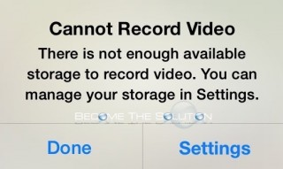 Fix: Cannot Record Video iPhone iPad