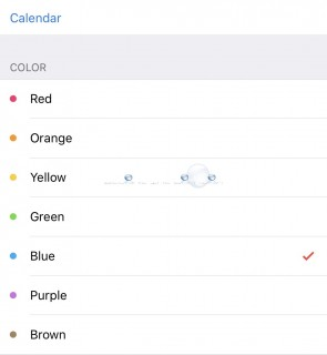 How To: iPhone Change Calendar Color